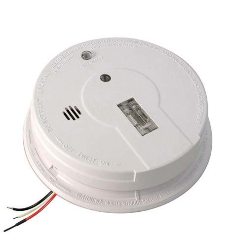 firex smoke detector kidde firex hardwired 120 volt inter connectable