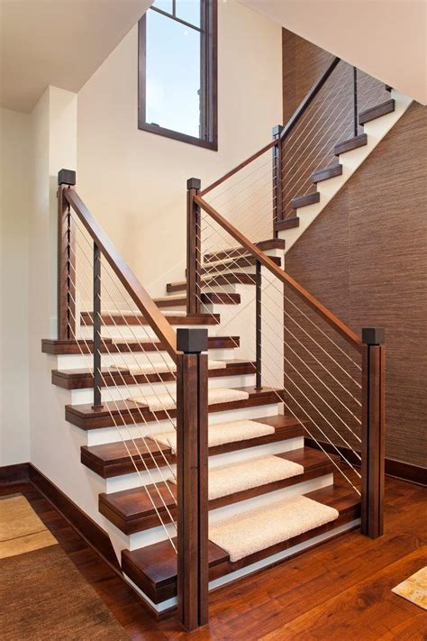 Stair Banister Ideas by 25 Best Ideas About Staircase Railings On