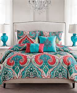 teal casablanca comforter set