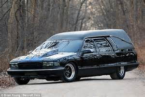 Auto Paint For Sale Near Me Iron Maiden Covered Chevy Caprice Hearse Can Hit 137mph