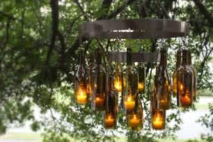how to make a bottle chandelier wie sie eine h 252 bsche deko aus flaschen gestalten k 246 nnen