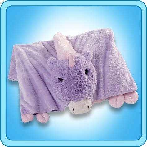 pillow pet authentic pillow pet magical unicorn blanket plush