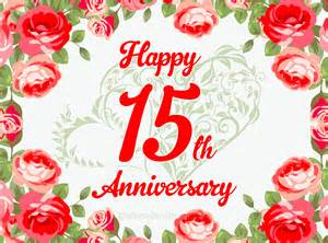 15 year anniversary free ecards and pics