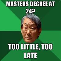Meme Degree - difference between to and too to vs too