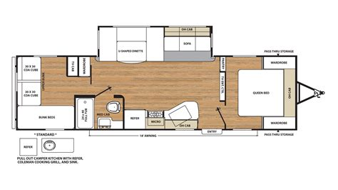 30 foot travel trailer floor plans 30 ft travel trailer floor plans pin by patti mennes on