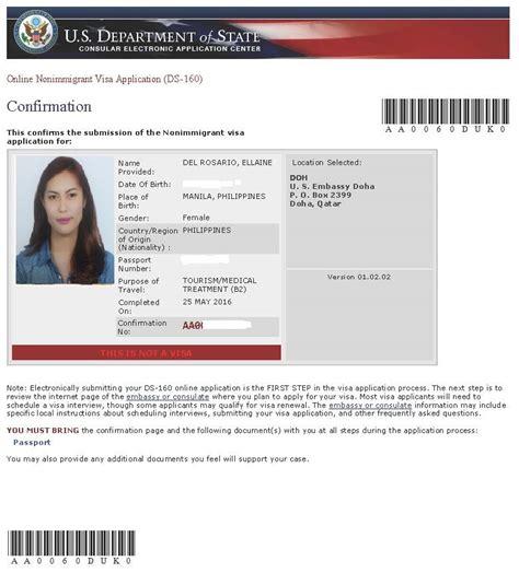 retrieve us visa appointment letter confirmation page