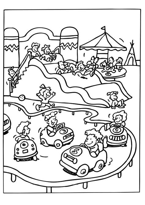 coloring pages water park park coloring page coloring home