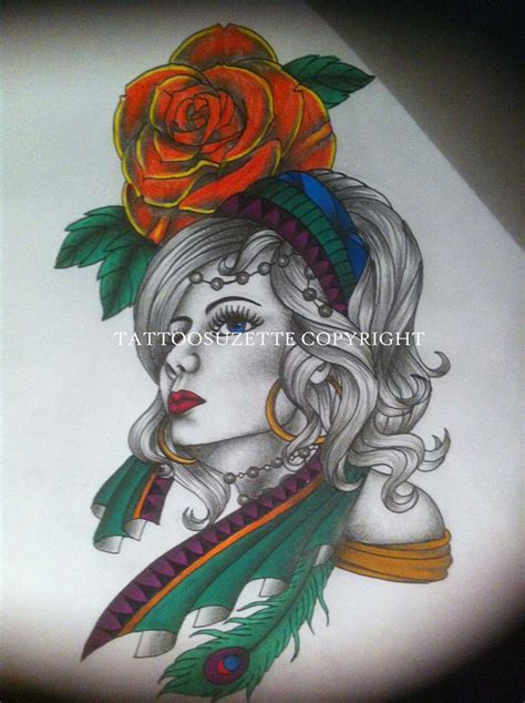 gypsy rose tattoo hours images designs