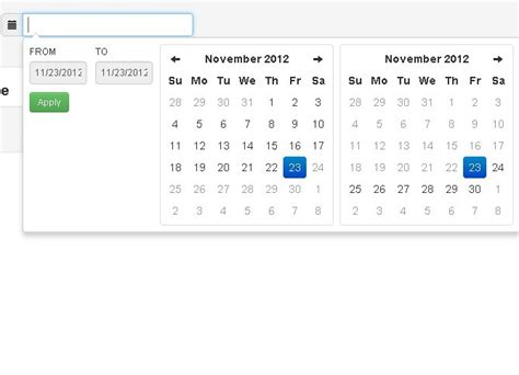 tutorial bootstrap datetimepicker jquery date range picker for twitter bootstrap free