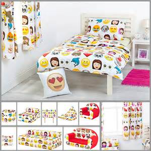 Design Your Own Duvet Set Children S Emoji Design Bedding Bedroom Collection