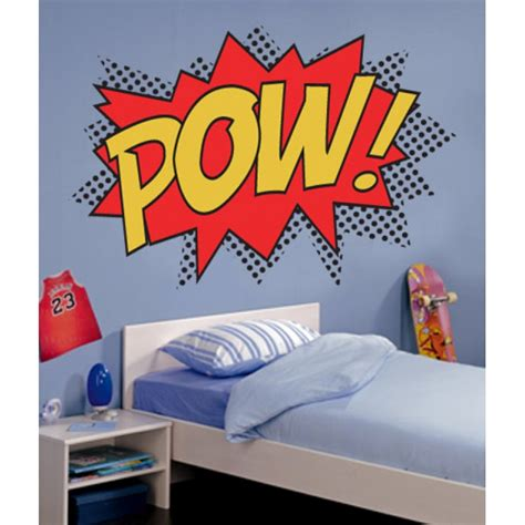 pow wall stickers pow colour punch wall stickers wall