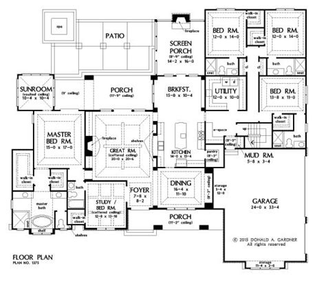 one house blueprints 17 best ideas about home plans on floor plans
