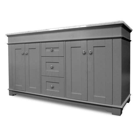 newcastle vanity grey 60w x 22d home surplus