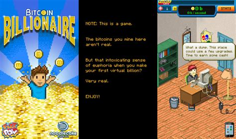 bitcoin game bitcoin billionaire a bitcoin mining themed free game for