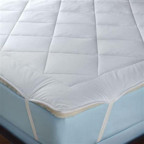 All Cotton Mattress Pad by The All Season Reversible Cotton Wool Mattress Pad
