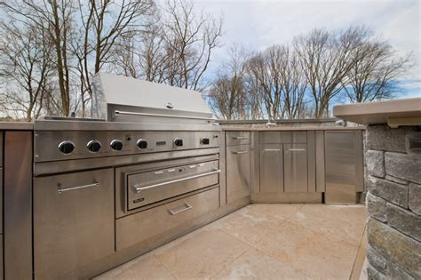 kitchen stainless steel cabinets