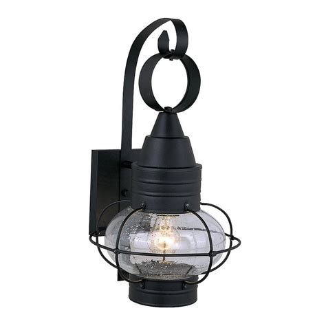 nautical outdoor wall lights shop cascadia lighting nautical 18 in h textured