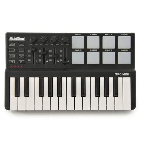 Keyboard Komputer Spc subzero spc mini n 248 kkel og pad midi kontroller hos gear4music