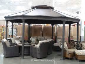 Sunjoy 13 Ft Royal Octagon Hardtop Gazebo by Aluminum Pergola Costco Submited Images