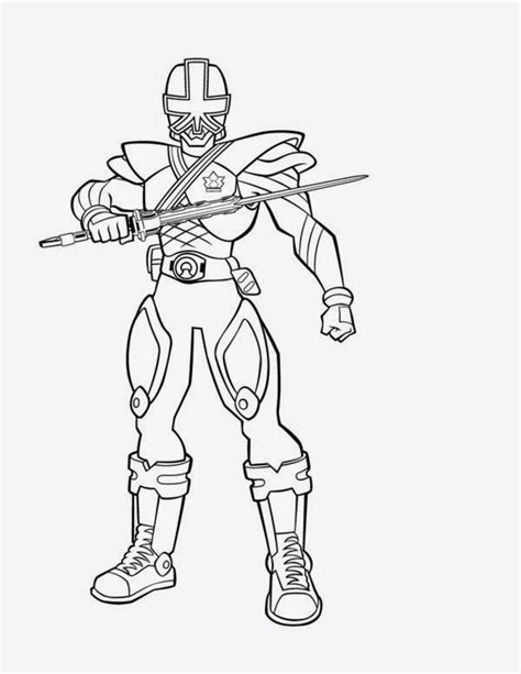 power rangers samurai coloring pages games print images cool power rangers samurai coloring pages