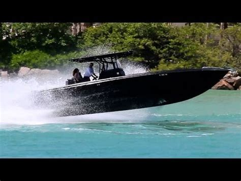 midnight express boats black midnight express 39 in miami youtube