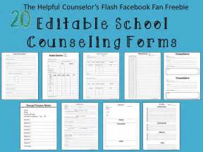 middle school counselor resources 25 best ideas about school counselor forms on
