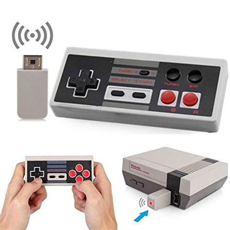 nintendo entertainment system nes classic edition controller new and boxed 163 29 99 picclick uk wireless nes mini classic rechargeable controller nes wireless gamepad for nintendo mini nes