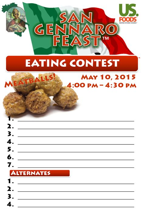 Feast Of Contest by San Gennaro Feast Contests