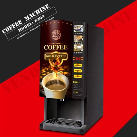 Instant Coffee Vending f303 instant coffee tea vending machine suppliers china
