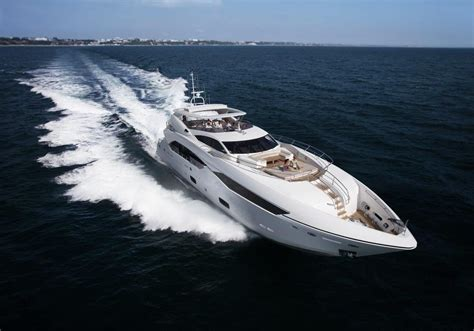 yacht spot the 10 finest sunseeker yachts of all time