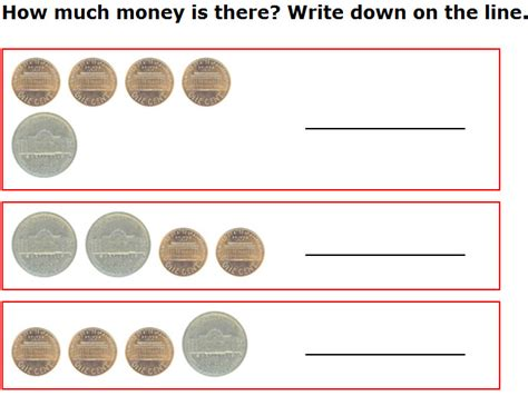 best sheets for the money 7 best images of free printable money math worksheets
