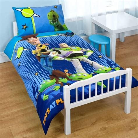 toy story bed toy story space junior cot bed duvet cover new ebay