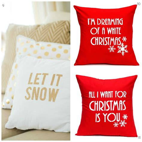 christmas cushions diy decorator