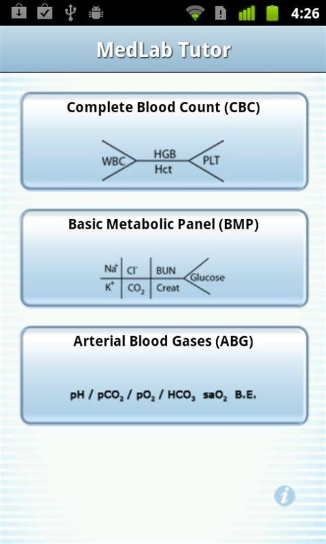Basic Metabolic Panel Also Search For Medlab Tutor Android Apps On Play