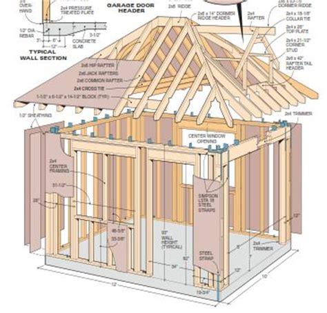 cottage storage shed plans