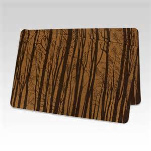 Floor Kitchen Mats by Cork Kitchen Placemats Forest Collection