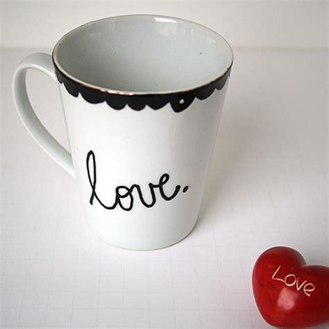 decoart glass marker love mugs