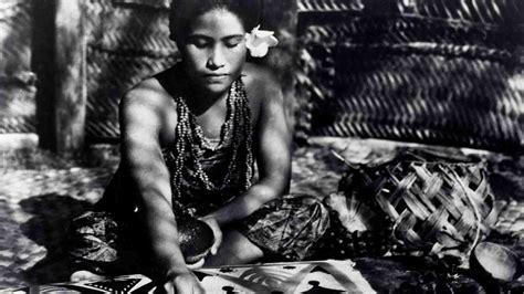moana film flaherty ninety year old film of samoa brought back to life