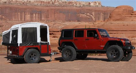 Jeep Road Cer Trailer Jeep Adds Road Cer Trailers To Its Portfolio