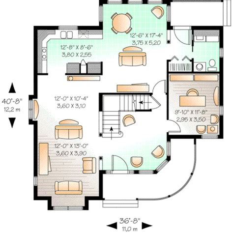 800 square foot house plan country style house plans 2160 square foot home 2 story 3 bedroom and 2 bath 0