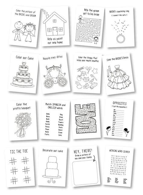 Wedding Activity Book Cover by 25 Best Ideas About Coloring Books On