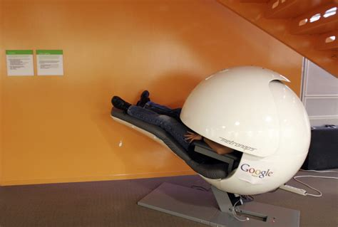 Google Sleep Pods | be trendy sleep at work the sleep hub