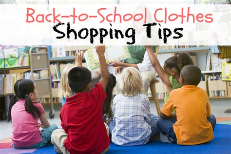 tips for easier back to school clothes shopping backtoyou