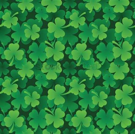 st images st patricks day theme background vector image 1991375