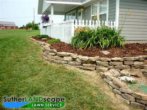 Garden Edging Rocks 8 Best Images About Front Entrance To Your Home Ideas On
