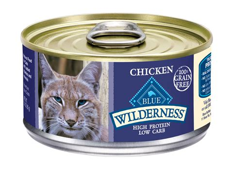 blue buffalo canned food blue buffalo wilderness chicken recipe canned cat food cat food petflow