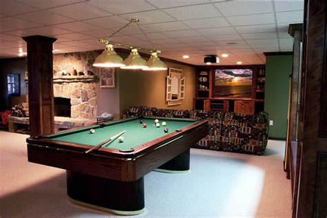 room pool table pool table near poles or beams family recreation centre