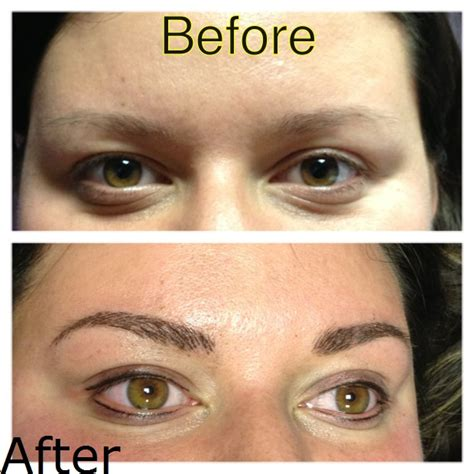 bad eyebrow tattoo semi permanent makeup 3d eyebrow cali s clinic