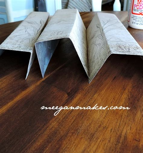 Decoupage Book Cover - how to decoupage a book cover what meegan makes