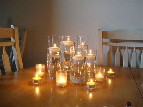 how to make a centerpiece with candles 17 best ideas about floating candle centerpieces on